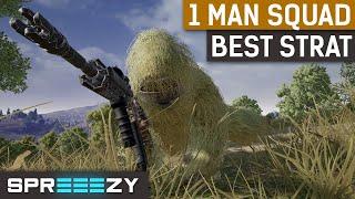 PUBG 1 Man Squads - sprEEEzy uses the Fuzzface Strategy