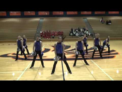 "Topeka West High School ""Westsiders"" Pom Routine at Kansas Spectacular Competition"