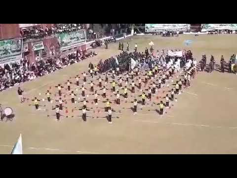 Pretty show of sialkot public school's child at Govt. Murray college sialkot