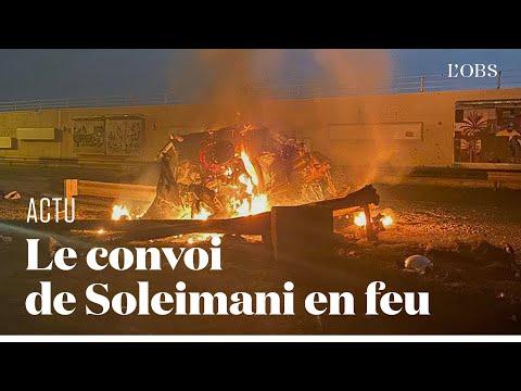 Les Images Du Raid Américain En Irak Qui A Tué Le Général Iranien Soleimani