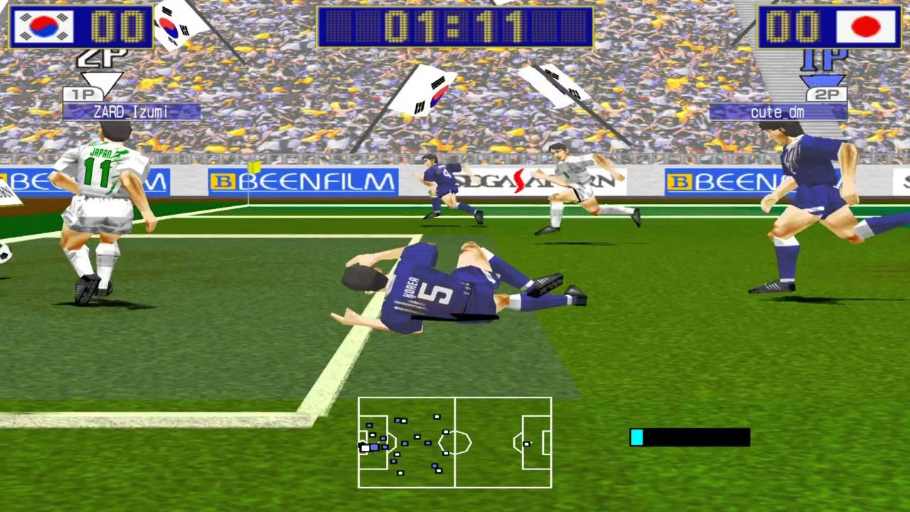 Virtua striker rom download.