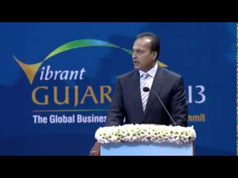 Anil Ambani Speech during Inauguration of Vibrant Gujarat Summit 2013