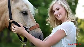 A Girl And A Horse Sweet Love