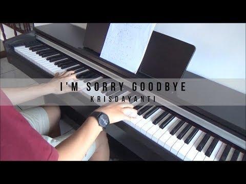Krisdayanti - I'm Sorry Goodbye (Piano Cover)