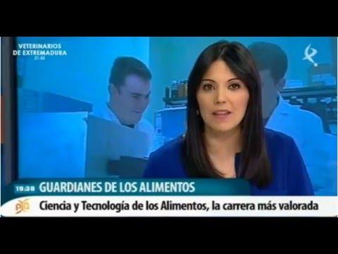 CYTA, la titulación mejor valorada en UEX, Canal Extremadura 12-4-2016