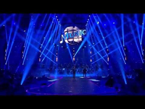 "Duran Duran -Simon Le Bon sings ""IN A BROKEN DREAM"" on MUSIC (Italy)"