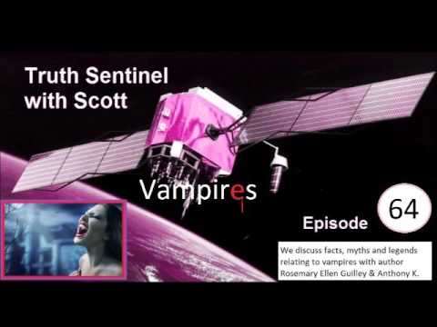 Truth Sentinel with Scott episode 64 (Vampires with Rosemary Ellen Guilley)