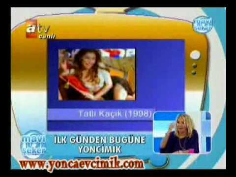 Yonca Evcimik 1991 - 2008 @ Mavi Şeker