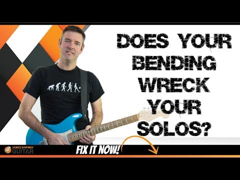 Guitar String Bending Problems (Are These Wrecking Your Solos?)