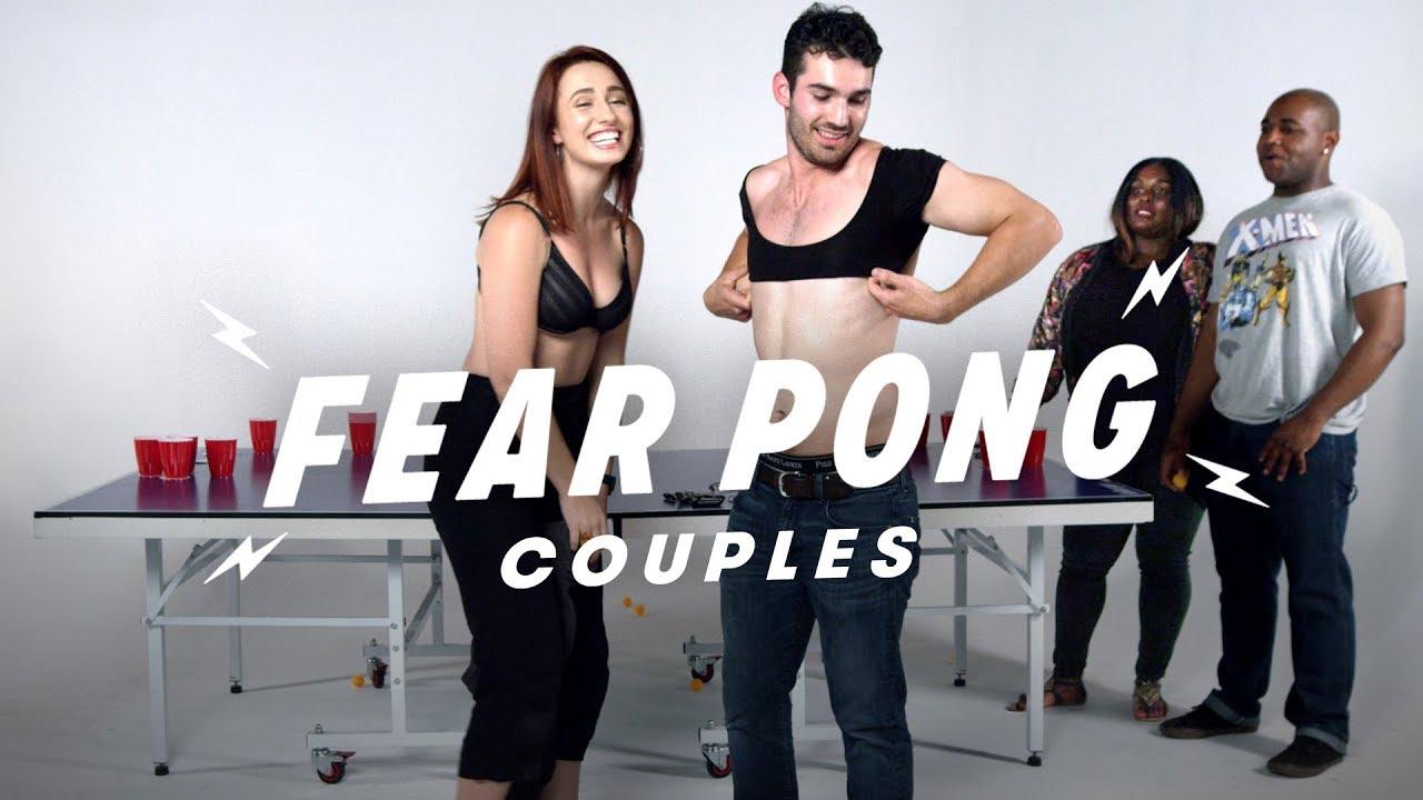 Couples Play Fear Pong (Savannah & Axel vs. Aliyah & Anthony) | Fear Pong | Cut