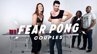 Couples Play Fear Pong (Savannah & Axel vs. Aliyah & Anthony) | Fear Pong | Cut
