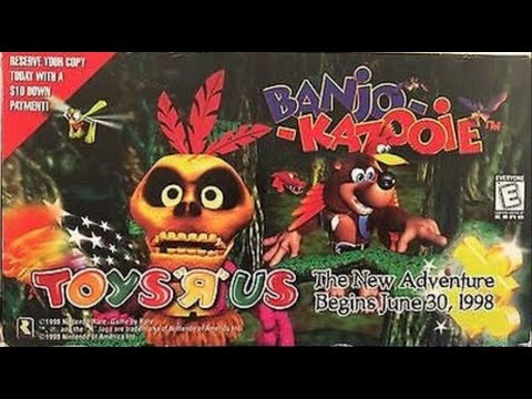 Banjo-Kazooie 1998 Promotional Video
