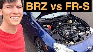 Subaru BRZ vs Scion FR-S (Toyota GT86) - 8 Performance Differences
