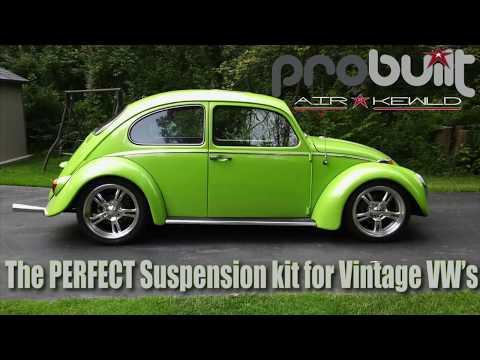 1969 77 PRObuilt Complete Lowering kit by Airkewld for Vintage VW's