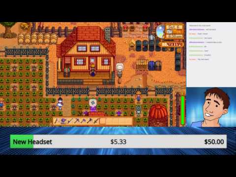 Playing Stardew Valley on Twitch!