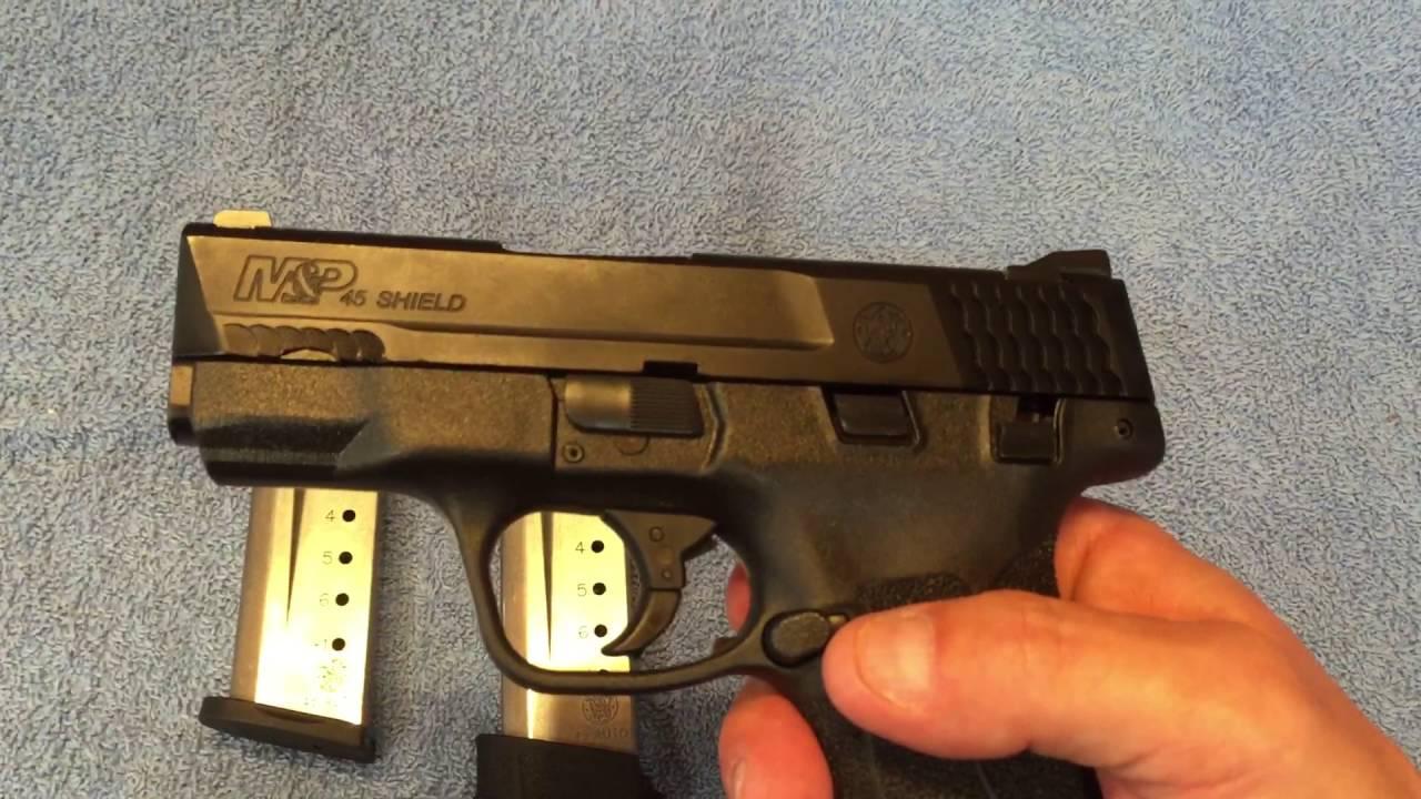 Quick Look: Smith & Wesson M&P Shield 45  45ACP