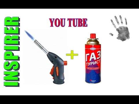 как сделать газовую мини горелку своими руками / ow to make mini gas burner with their hands