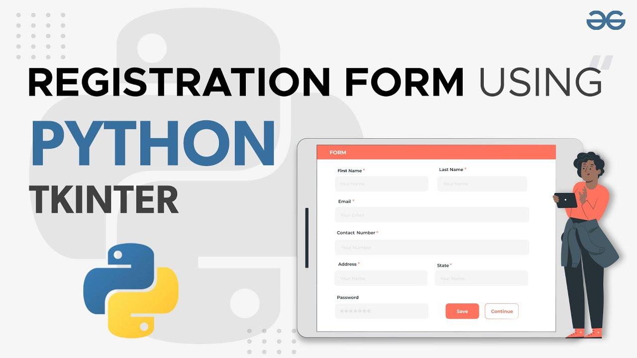Registration Form Using Python Tkinter