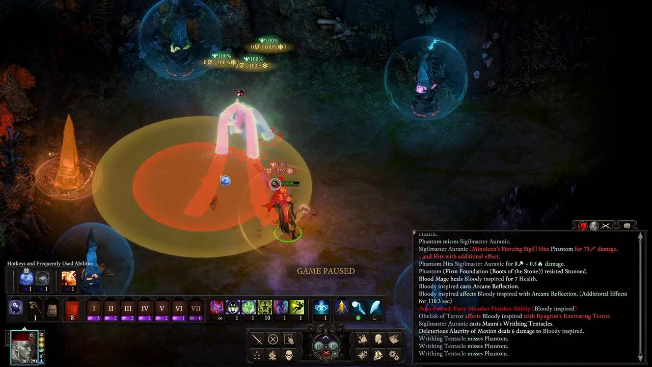 Sigilmaster Auranic Solo Potd all upscaled lvl 19 kill - Pillars of