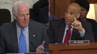 Booker: 'I'm knowingly violating the rules' and releasing documents
