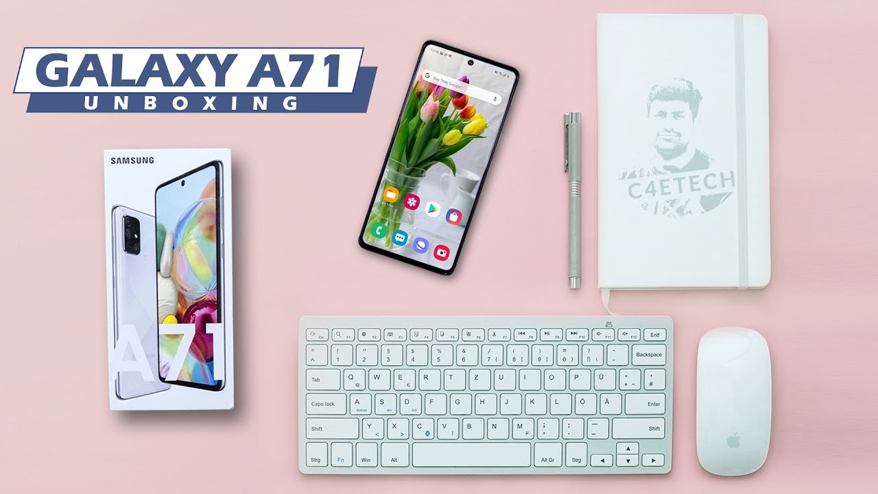 Samsung Galaxy A71 Unboxing & New Features!
