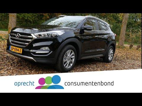 Hyundai Tucson - Autoreview (Consumentenbond)