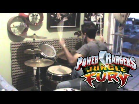 Power Rangers Jungle Fury #DrumCover