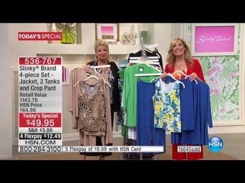HSN | Slinky Brand Fashions Anniversary 05.10.2017 - 11 AM