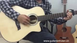 Video Test Custom Guitar Koa VN