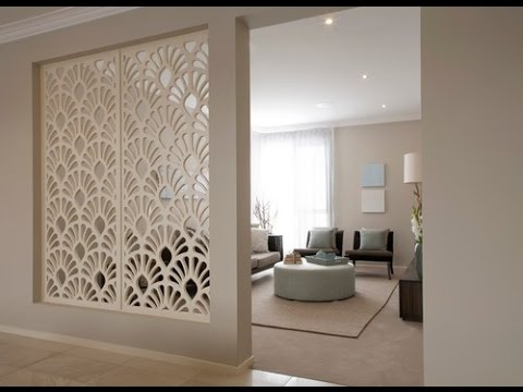 partition wall design living room. Ideas For Room Partitions  YouTube