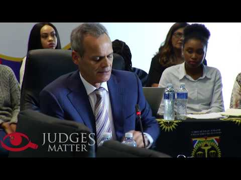 JSC interview of Judge A Schippers for the Supreme Court of Appeal (Judges Matter)