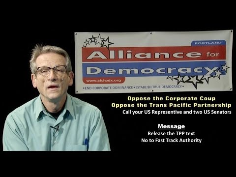 14-02 Community Forum on the Trans Pacific Partnership
