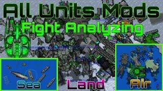 Rusted Warfare   All units mods fight analyzing