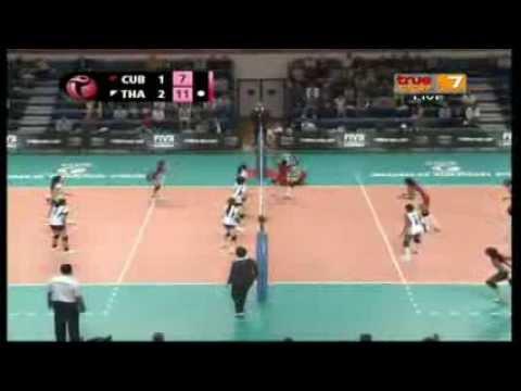 Thailand - Cuba [Full Match] World Grand Prix 9-08-2013