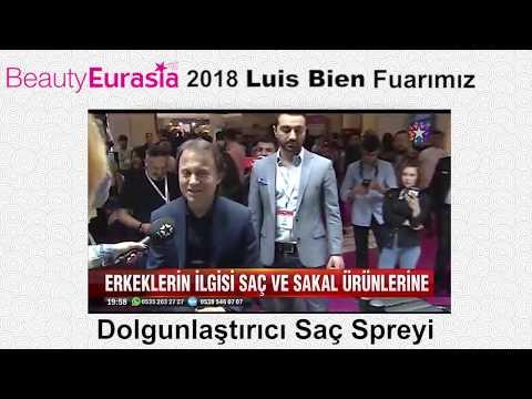 2018 Beauty Eurasia Güzellik Fuarında, Star Tv İle Yaptığımız Röportaj