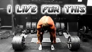 "Powerlifting Motivation - ""I LIVE FOR THIS!"" - StaneTMI"