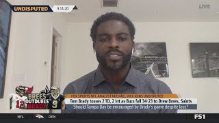 UNDISPUTED   Michael Vick: This is why Tom Brady & Bucs loss to Saints 34-23