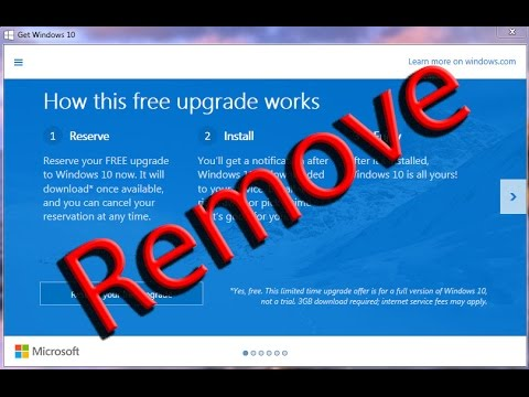 Get Windows 10: How to remove and uninstall the get windows 10 ...