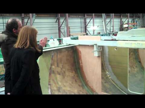 Berthon USA Road Trip to Netherlands and Contest Factory General Footage