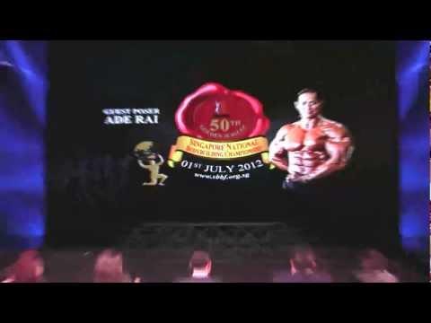 Nationals 2012 - Guest Poser Ade Rai (Indonesia)