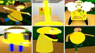 PLAY AS ALL GOLDEN CHARACTERS - Baldi's Basics ROBLOX
