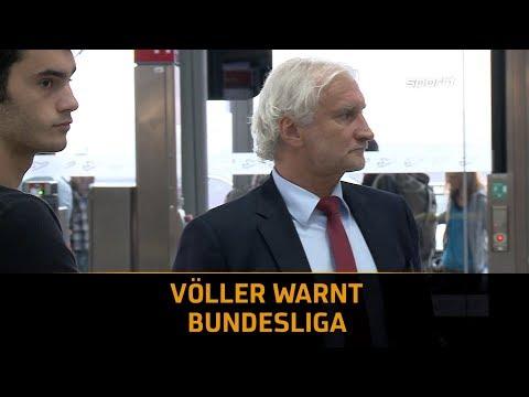 Bayer Leverkusens Rudi Völler warnt die Bundesliga | SPORT1 DER TAG