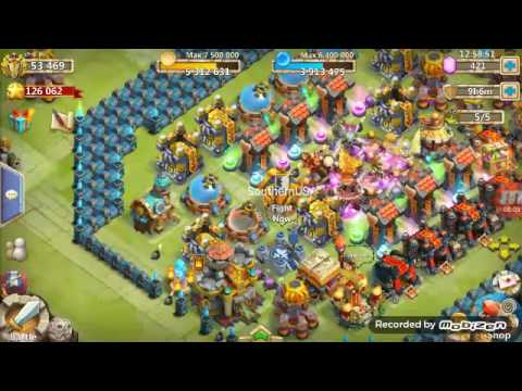 Castle Clash Gameplay With Destroyer