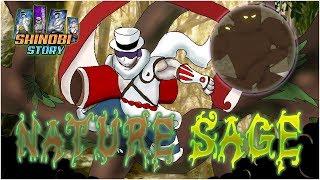 Nature Sage/Shizen Showcase & TUTTI Legno Jutsu Origine Shinobi Roblox