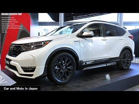 Honda CR-V Custom Concept - YouTube