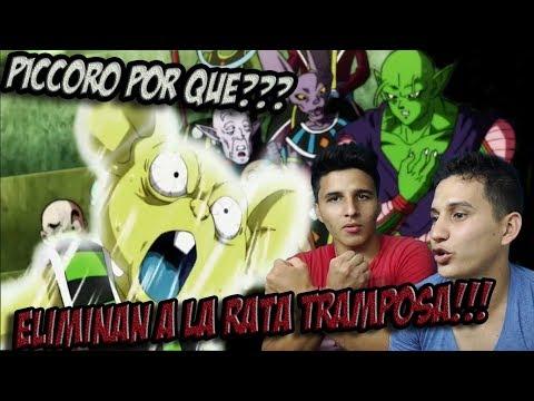 ADIOS UNIVERSO 4!!! Y BOTARON A PICCORO!!! | REACCION - DRAGON BALL SUPER CAP 119