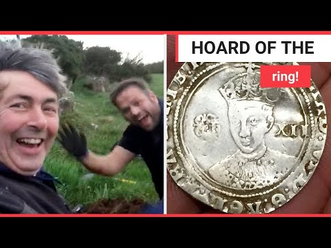 Metal Detectorists Discover Haul Of Gold Coins Worth At Least 100k | SWNS TV