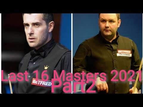 Stephen Maguire Vs Mark Selby Masters 2021 Youtube