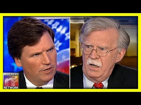 Tucker Carlson SLAMS The Door Shut After Trump Boots John Bolton From The White House
