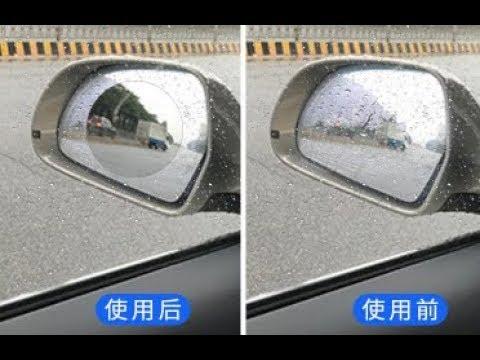 Пленки антидождь на стекла авто - тестирование и впечатления